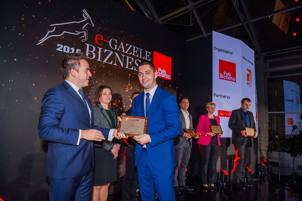 25.10.2016 - Katowice . Gala e-Gazele Biznesu Katowice 2016 . Fot. Rafal Klimkiewicz / EDYTOR.net