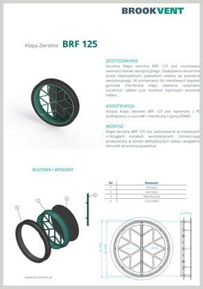 klapa zwrotna BRF 125