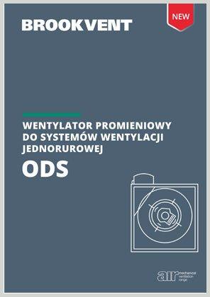 Wentylator jednorurowy ODS
