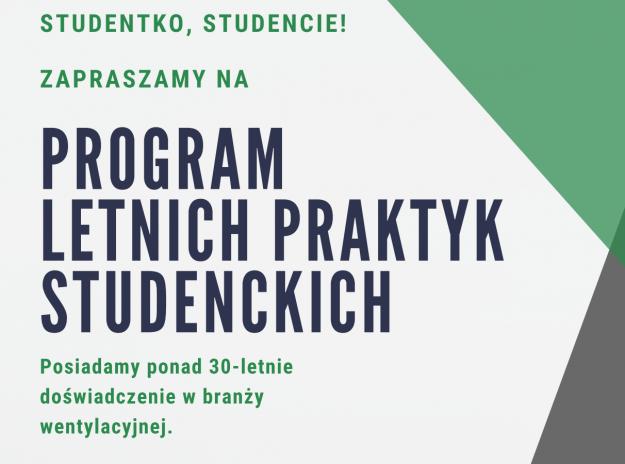 program letnich praktyk studenckich